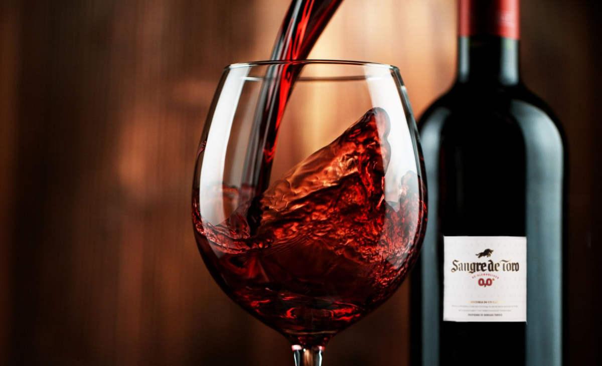 Alkoholfreier Wein - Sangre de Toro
