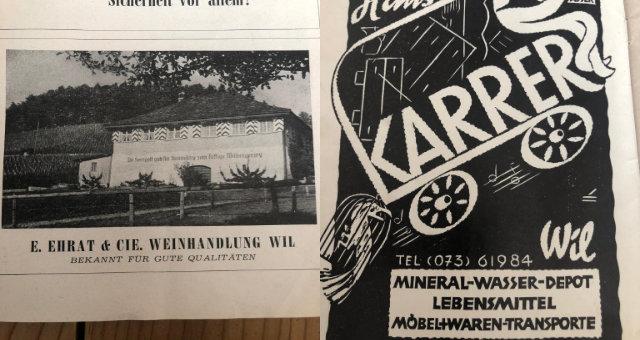 Wein Wil - die ehemalige Ehrate Weine AG